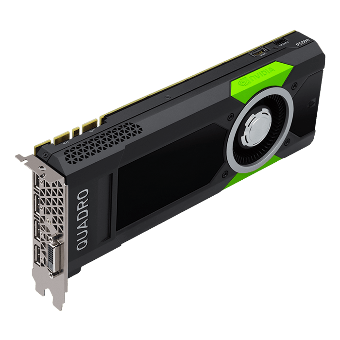 Quadro P5000 VCQP5000-PB, 16GB GDDR5X, Graphics Card