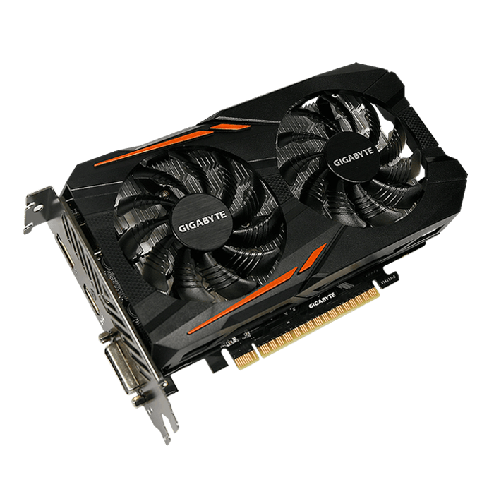GeForce GTX 1050 Ti OC 4G, 1316 - 1455MHz, 4GB GDDR5, Graphics Card
