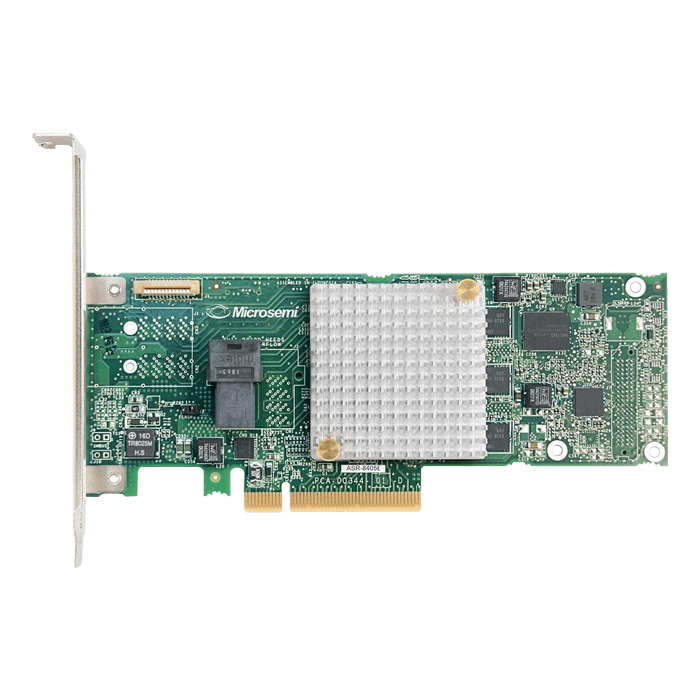 Adaptec 8405E, SAS 12Gb/s, 4-Port, PCIe 3.0 x8, Controller with 512MB Cache