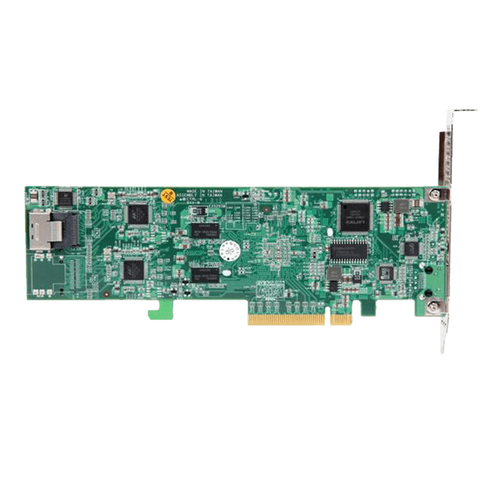 ARC-1264IL-12, SAS 6Gb/s, 12-Port, PCIe 2.0 x8, Controller with 1GB Cache, Includes 3x Internal MiniSAS (SFF-8087) to 4x SATA Breakout Cables