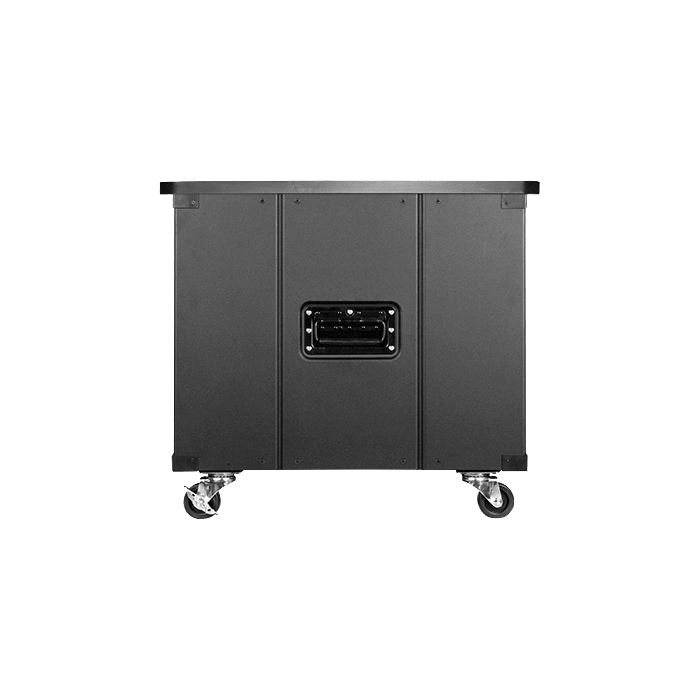 WD-960-WT, 9U, 600mm Depth, Simple Server Rack with Wood Top