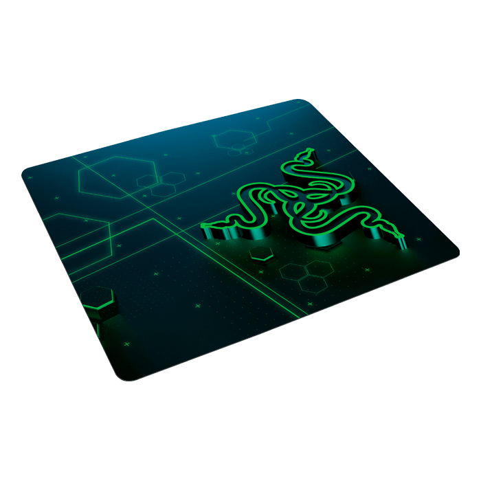 Goliathus Mobile, Rubberized base, Blue-Green, Retail Gaming Mouse Mat