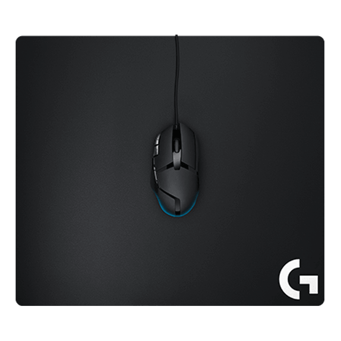 G640 (Large), Stable Rubber Base, Black, Retail Gaming Mouse Mat
