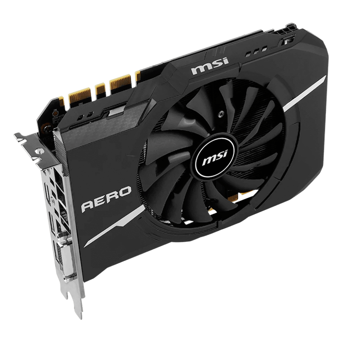 GeForce GTX 1070 AERO ITX OC, 1531 - 1721MHz, 8GB GDDR5, Graphics Card