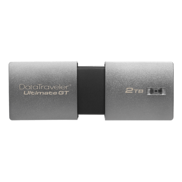 DataTraveler Ultimate GT DTUGT/2TB, 2TB, USB 3.1 Flash Drive, Silver, Retail