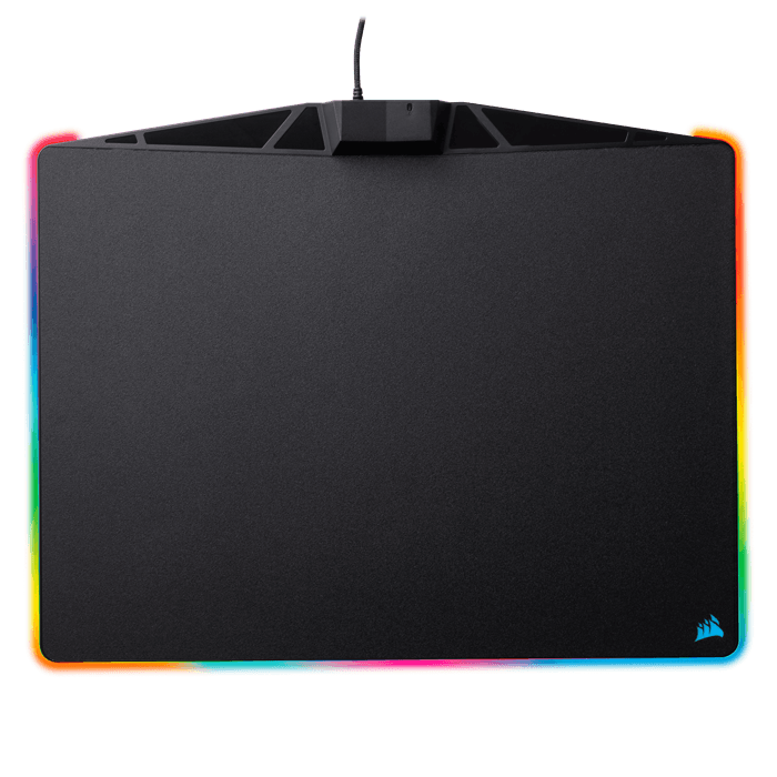 MM800 RGB Polaris, Plastic, Black, Retail Gaming Mouse Mat