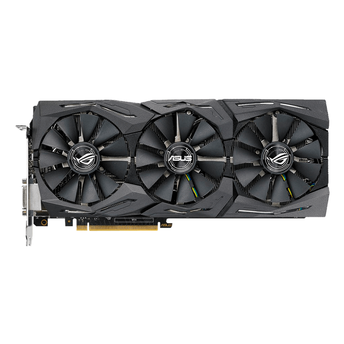 GeForce GTX 1080 Ti ROG-STRIX-GTX1080TI-O11G-GAMING, 1569 - 1708MHz, 11GB GDDR5X, Graphics Card