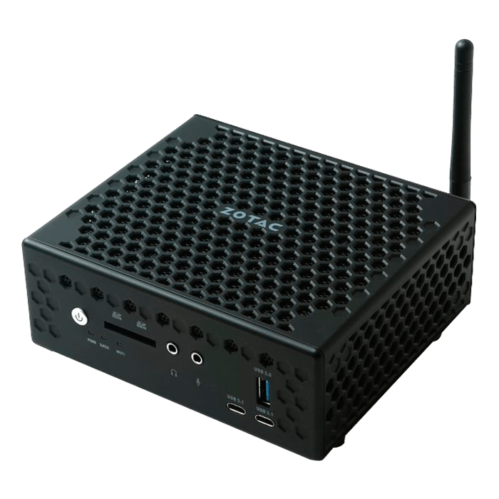 "ZBOX C CI547 Nano, Intel Core i5-7200U, 2x DDR4 SO-DIMM, 2.5"" HDD/SSD, Intel HD Graphics 620, Mini PC Barebone"