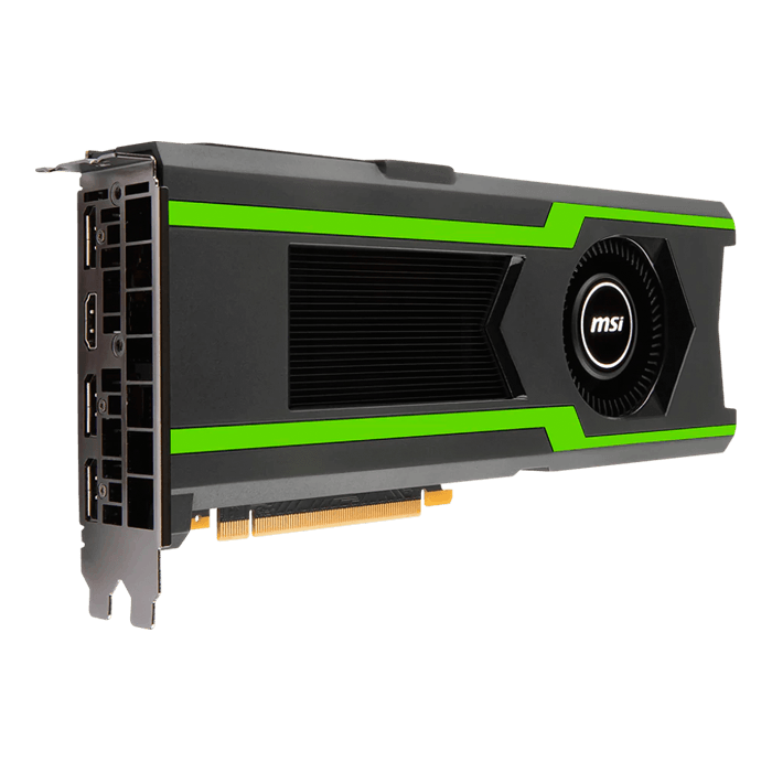 GeForce GTX 1080 Ti AERO 11G OC, 1506 - 1620MHz, 11GB GDDR5X, Graphics Card