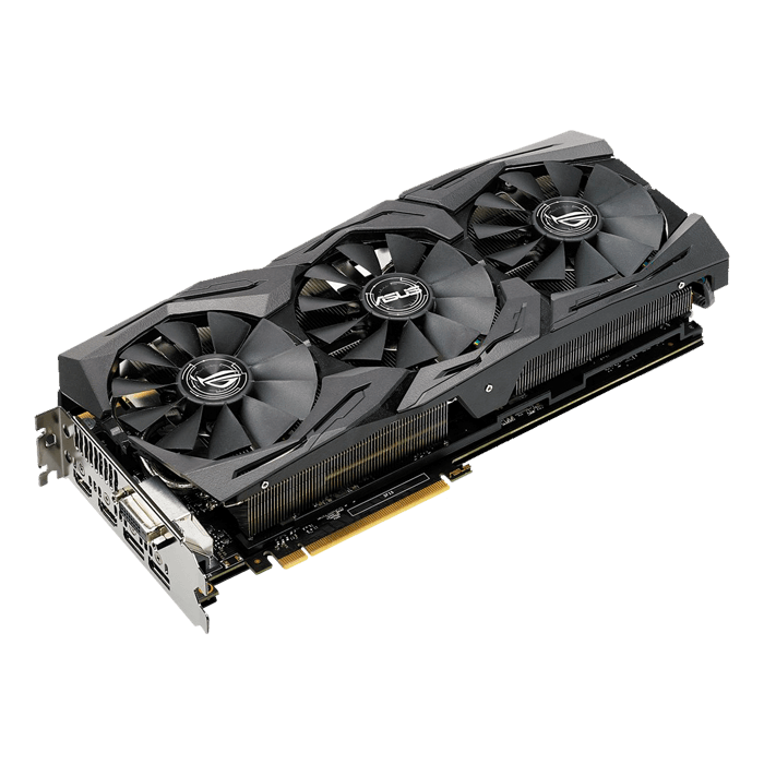 GeForce GTX 1080 Ti ROG-STRIX-GTX1080TI-11G-GAMING, 1493 - 1632MHz, 11GB GDDR5X, Graphics Card