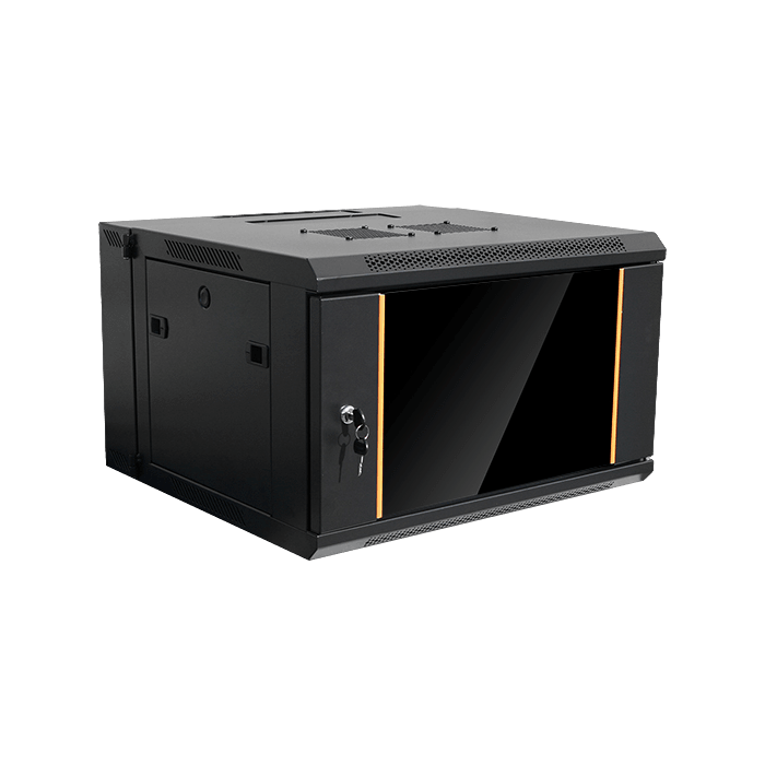 WMZ-655, 6U, 550mm Depth, Swing-out Wallmount Server Cabinet