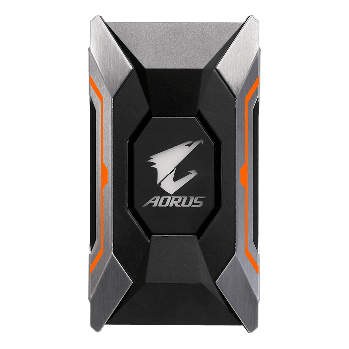 AORUS SLI HB Bridge RGB (2 slot spacing) 80mm - For GTX 10 Series
