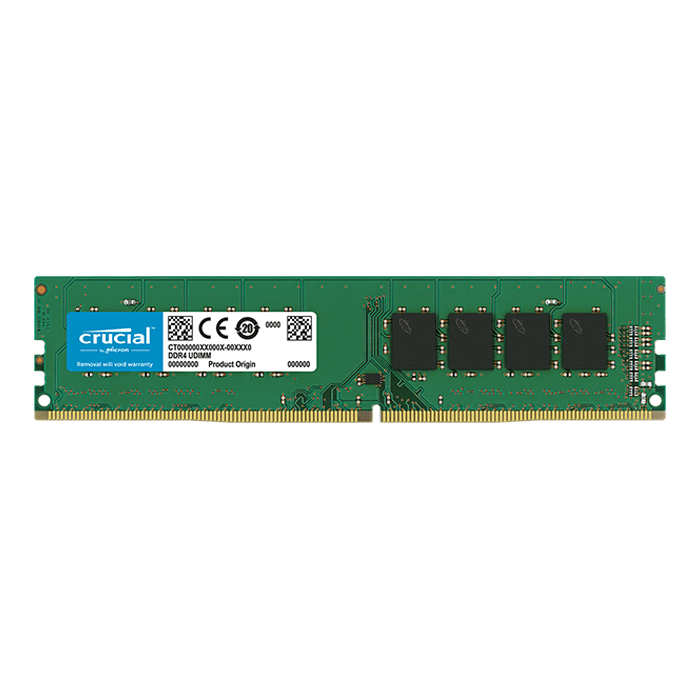 16GB Dual-Rank DDR4 2666MHz, CL19, DIMM Memory