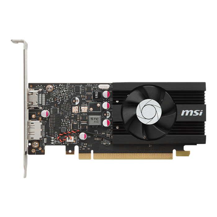 GeForce GT 1030 2G LP OC, 1265 - 1518MHz, 2GB GDDR5, Graphics Card