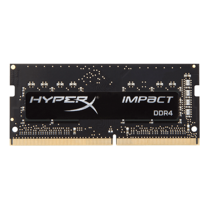 8GB HyperX Impact DDR4 2400MHz, CL14, Black, SO-DIMM Memory