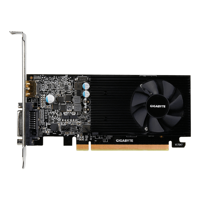 GeForce GT 1030 Low Profile 2G, 1227 - 1506MHz, 2GB GDDR5, Graphics Card