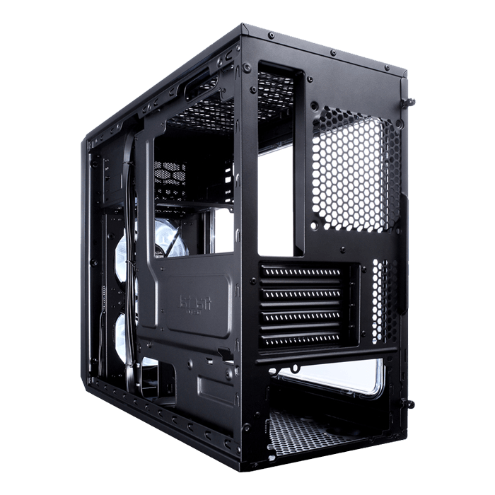 Focus G Mini w/ Window, No PSU, microATX, Black, Mini Tower Case