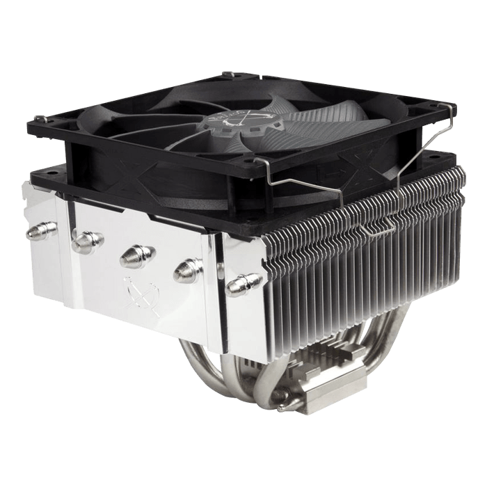 Kabuto 3 SCKBT-3000, 125mm Height, Nickel-plated/Copper CPU Cooler