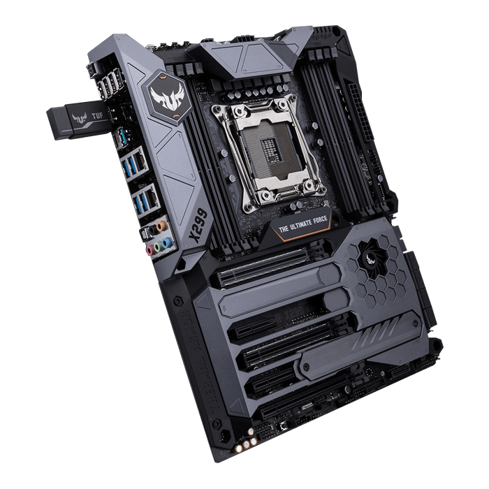 TUF X299 MARK 1, Intel X299 Chipset, LGA 2066, ATX Motherboard