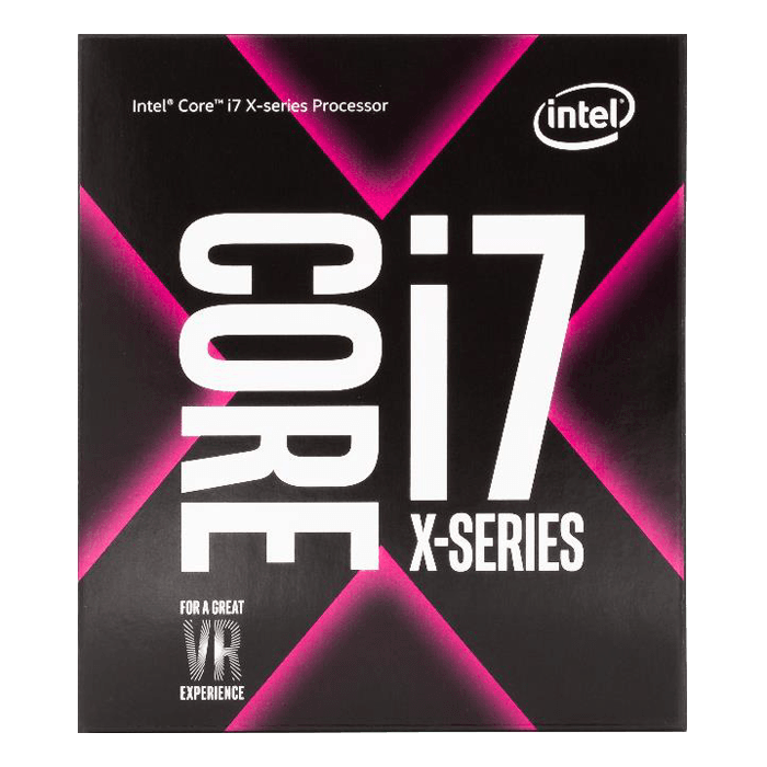 Core™ i7-7820X 8-Core 3.6 - 4.3GHz Turbo, LGA 2066, 140W TDP, Processor