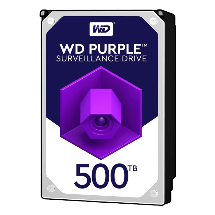 500GB WD Purple Surveillance WD05PURZ, 5400 RPM, SATA 6Gb/s, 64MB cache, 3.5-Inch, OEM HDD
