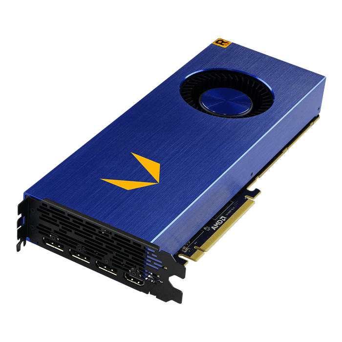 Radeon Vega Frontier Edition (Air Cooled), 1382 - 1600MHz, 16GB HBC, Graphics Card