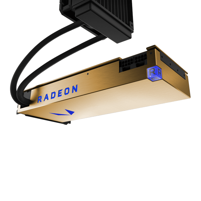 Radeon Vega Frontier Edition (Liquid Cooled), 1382 - 1600MHz, 16GB HBC, Graphics Card