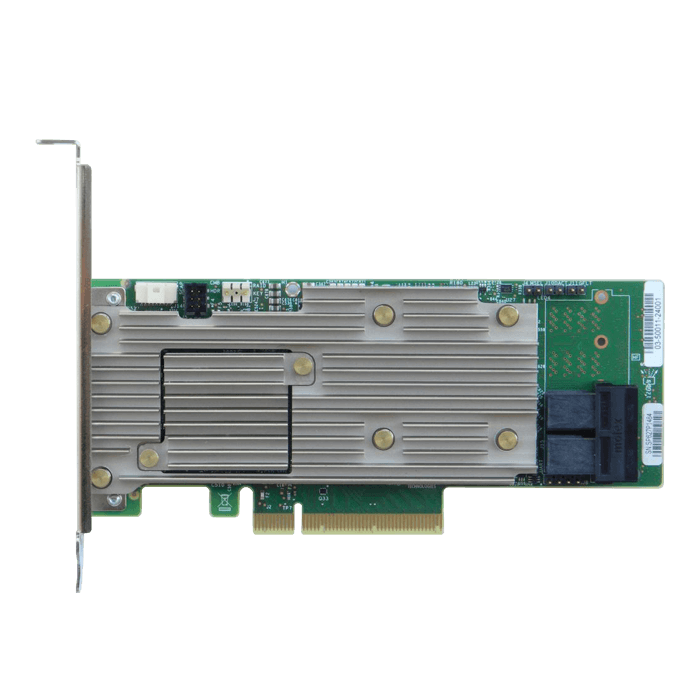 RSP3DD080F, SAS/SATA/PCIe (NVMe), 8-Port, PCIe 3.0 x8, Controller with 4GB Cache