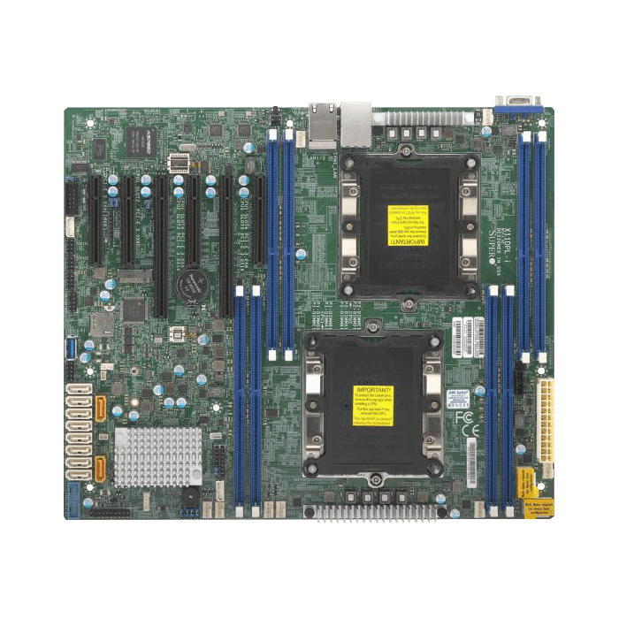 Supermicro X11dpl I Intel C621 Lga 3647 Atx Server