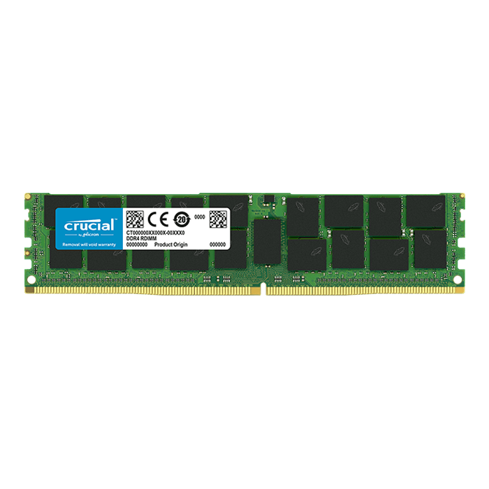 32GB Dual-Rank, DDR4 2666MHz, CL19, ECC Load Reduced Memory