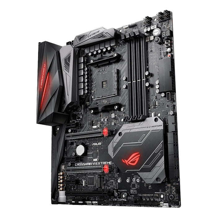 ROG CROSSHAIR VI EXTREME, AMD X370 Chipset, AM4, E-ATX Motherboard