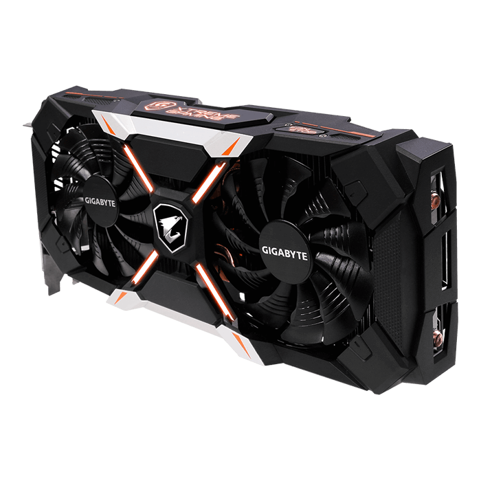 GeForce GTX 1060 AORUS Xtreme Edition 6G R2, 1506 - 1873MHz, 6GB GDDR5, Graphics Card