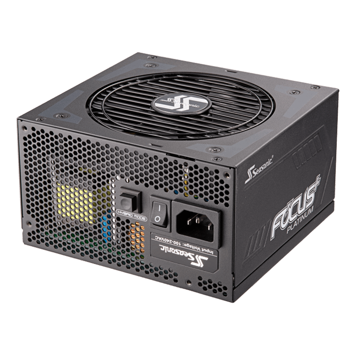 FOCUS PLUS Platinum, 80 PLUS Platinum 750W, Fully Modular, ATX Power Supply