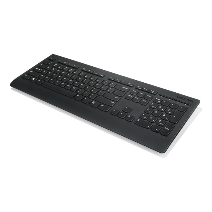 4X30H56876, Wireless 2.4GHz USB, Black, Keyboard