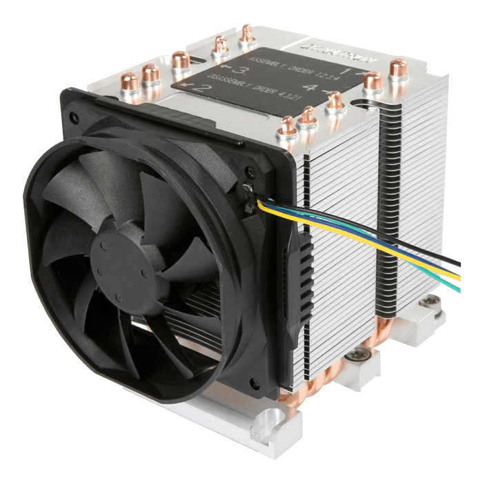 B11 Socket LGA 3647 Narrow ILM, 110mm Height, 205W TDP, Copper/Aluminum CPU Cooler