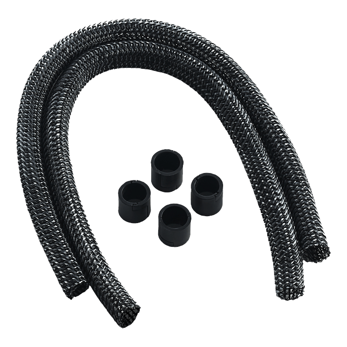 AIO Sleeving Kit Series 2 for EVGA® CLC / EVGA® GPU Hybrid / NZXT® Kraken - CARBON
