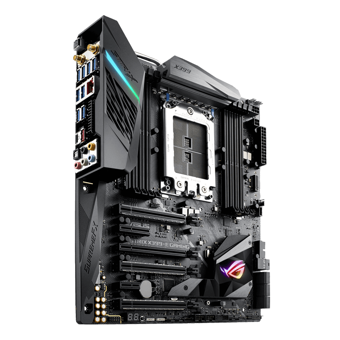 ROG STRIX X399-E Gaming, AMD X399 Chipset, TR4, E-ATX Motherboard