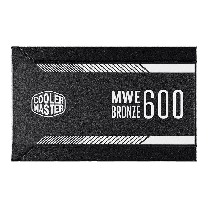 MWE 600, 80 PLUS Bronze 600W, No Modular, ATX Power Supply