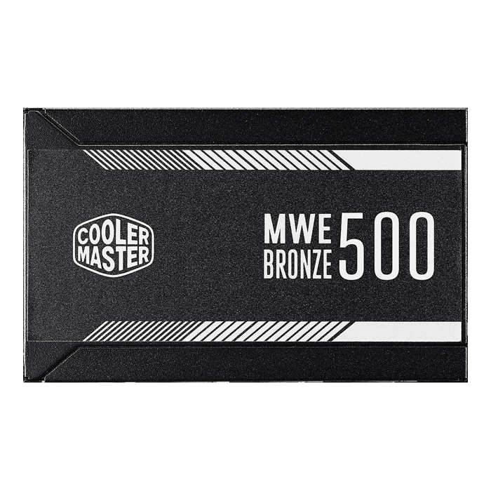 MWE 500, 80 PLUS Bronze 500W, No Modular, ATX Power Supply