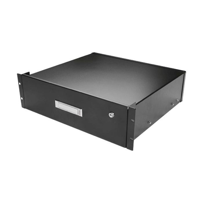 WA-DWR3UB, 3U, Sliding Drawer with Key Lock