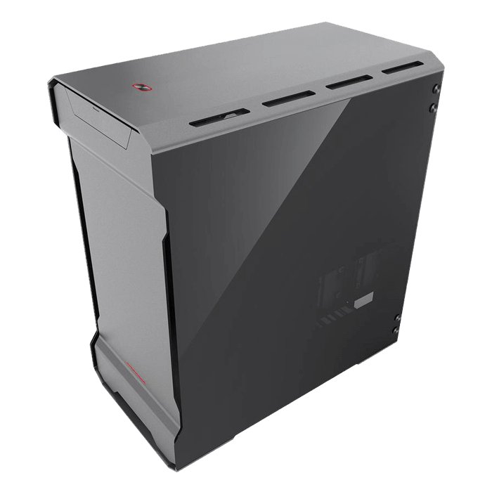 Enthoo Series Evolv MATX Tempered Glass, No PSU, microATX, Anthracite Grey, Mini Tower Case