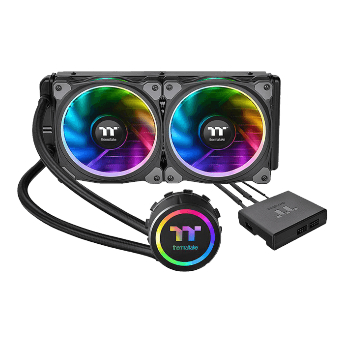 Floe Riing RGB 240 TT Premium Edition, 240mm Radiator, Liquid Cooling System
