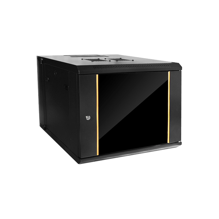 WMZ955-SFH25, 9U, 550mm Depth, Swing-out Wallmount Server Cabinet with 1U Tray