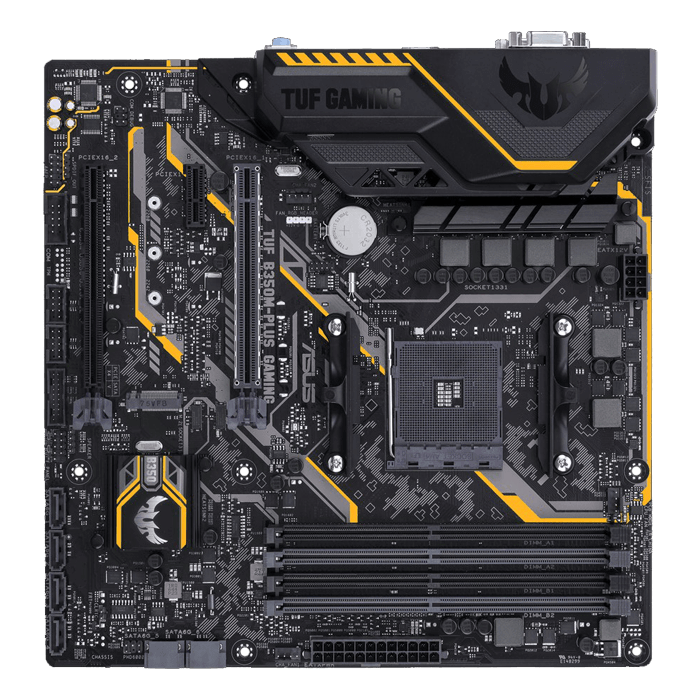 TUF B350M-PLUS GAMING, AMD B350 Chipset, AM4, HDMI, microATX Motherboard