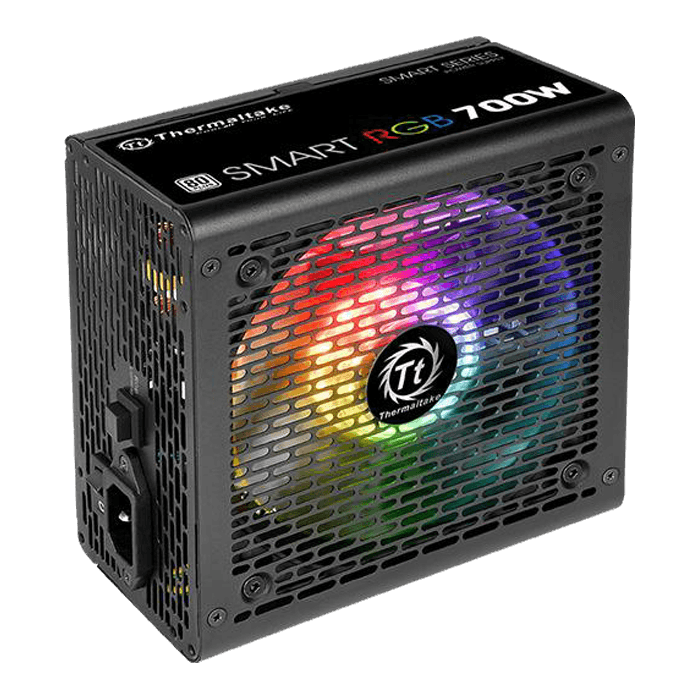 Smart RGB, 80 PLUS Standard 700W, No Modular, ATX Power Supply