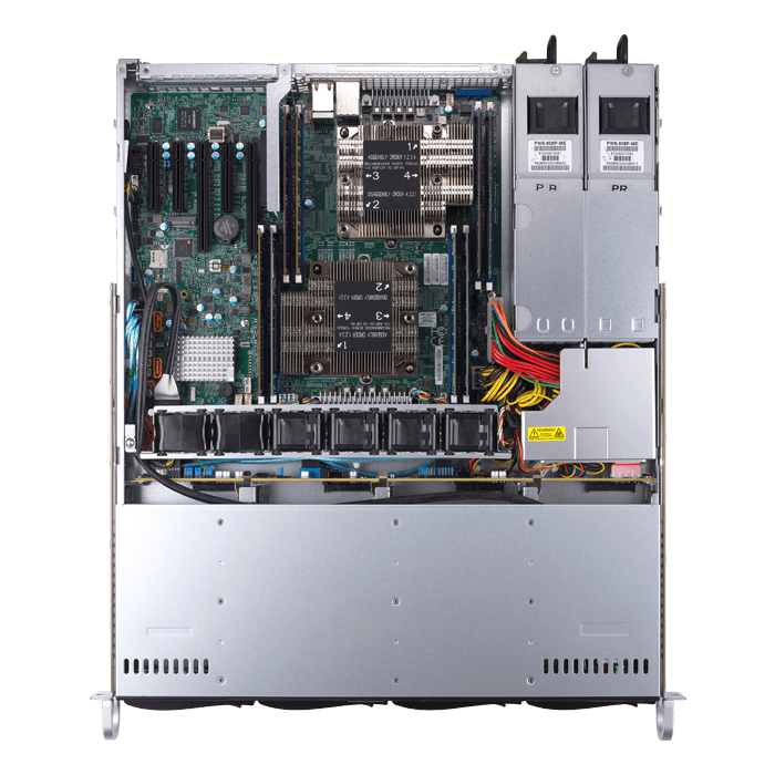SuperServer 1029P-MTR, 1U, Intel C621, 8x SATA, 8x DDR4, Dual 1Gb Ethernet, 600W Rdt PSU