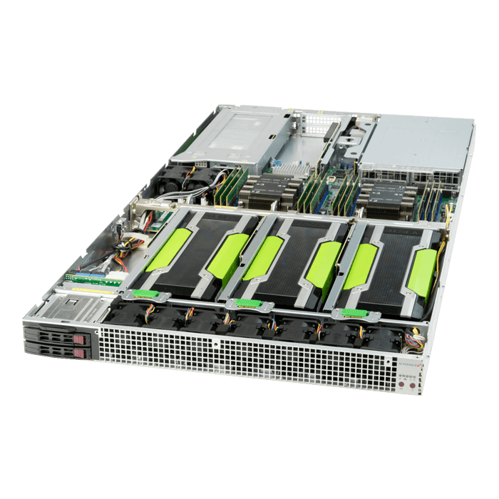SuperServer 1029GQ-TRT, 1U, Intel C621, 4x SATA, 12x DDR4, Dual 10Gb Ethernet, 2000W Rdt PSU