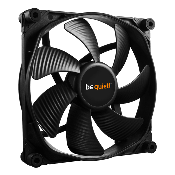 Silent Wings 3 140mm PWM HIGH-SPEED, 1600 RPM, 77.57 CFM, 28.1 dBA, Cooling Fan