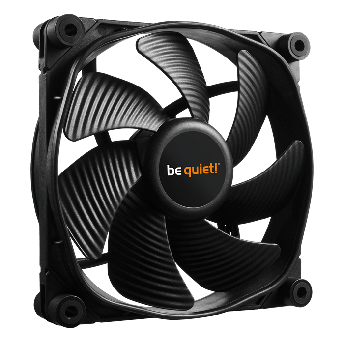SILENT WINGS 3 120mm PWM HIGH-SPEED, 2200 RPM, 73.33 CFM, 28.6 dBA, Cooling Fan