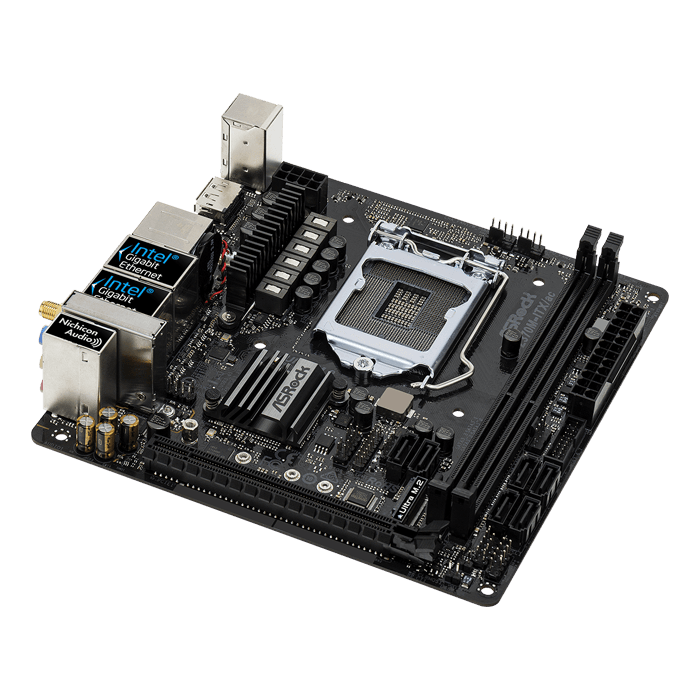 Z370M-ITX/ac, Intel Z370 Chipset, LGA 1151, HDMI, Mini-ITX Motherboard